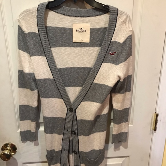 Size large sweater Hollister women's